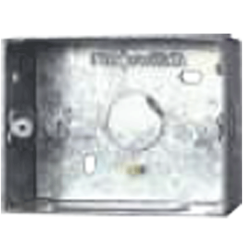 Finolex 2 Module GI Metal Box