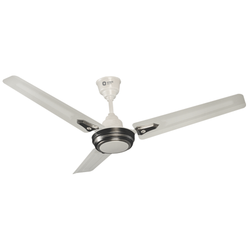 "Orient 1050mm 42"" Summer Pride Ceiling Fan Color Silver Black"