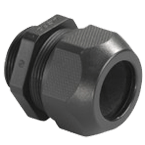 HENSEL MAKE 11.5-18.0MM DIA SYTEC BLACK RAL 9005 ENTRY THREAD METRIC IP 68 (WITH ONE PIECE SEALING RING)