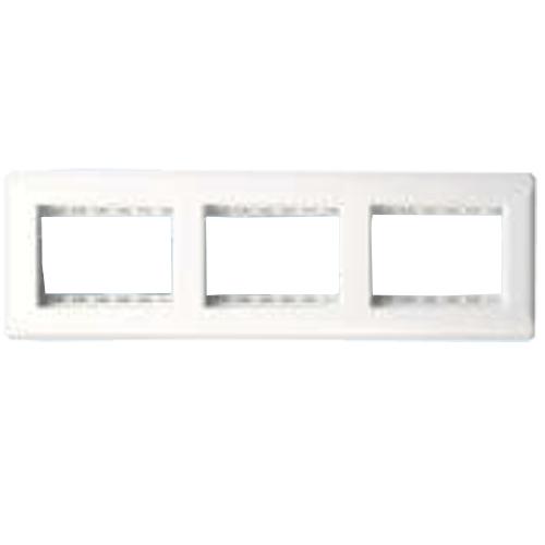 Finolex Premium 9 Module Face and Mounting Plate