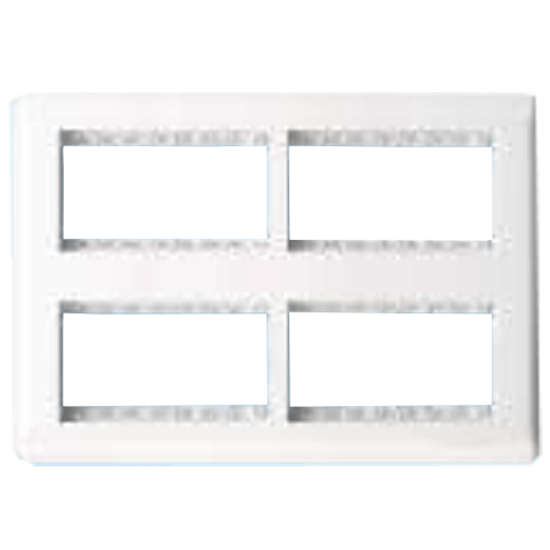 Finolex 16 Module Face and Mounting Plate