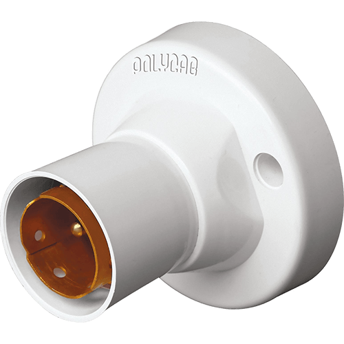 Polycab Cleta 2Amp Batten Lamp Holder Non Modular