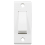 Anchor 6A 1 Way Switches Delux Colour White
