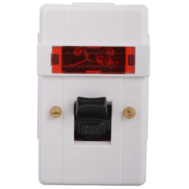 ANCHOR 39094 32A SURFACE D.P SWITCH WITH NEON COLOUR WHITE