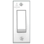 Anchor 6A 1 Way Switches Delux Colour Ivory