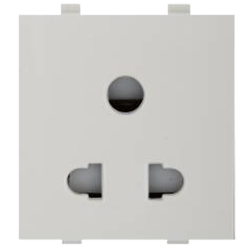 Anchor Woods Multi Socket For 3 pin & 2 Pin