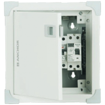 Anchor 8 Way Single Pole Neutral Uno Distribution Box