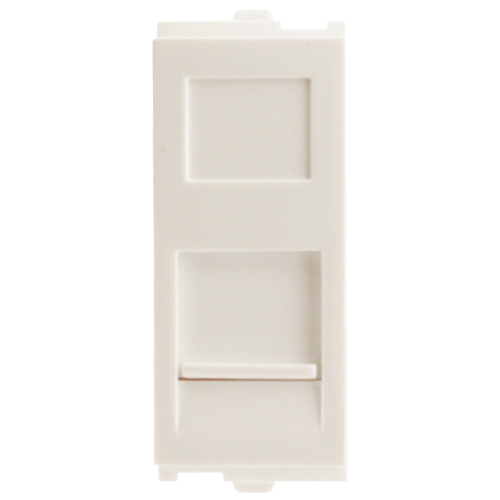 Crabtree Verona RJ45 Jack with Cat 6 Socket