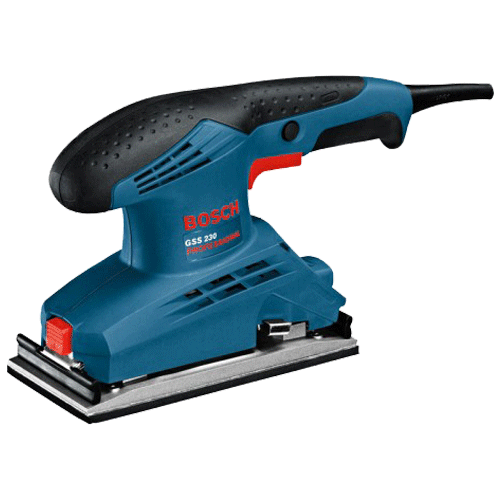 Bosch 190W Orbital Sander Without Filter Professional Sanders