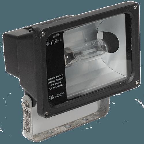CGLFloodlight luminaire FLOODLT-INT.ASYM 70W MH-E