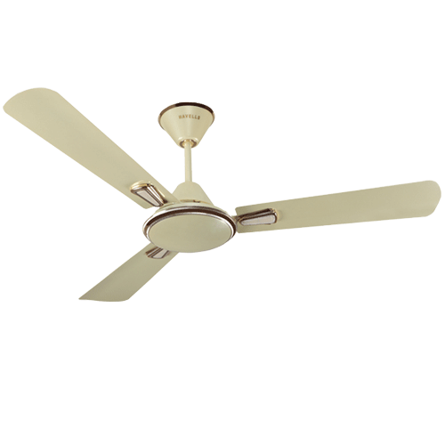 "Havells 1200 mm 48"" Ceiling Fan Festiva Colour Pearl Ivory Gold"