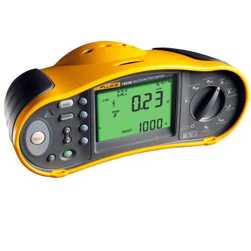 Fluke 1654b‐01 Installation Tester With RCD Type B, MEM, FR, Schuko