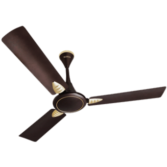 Surya 1200mm Fortune High Speed Ceiling Fan Colour Coco Brown