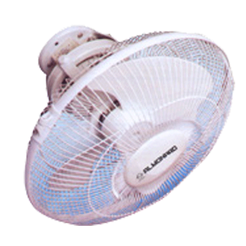 Almonard 300mm 12 Inch High Speed Cabin Fan Colour White & Blue