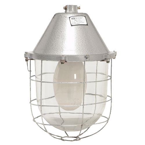 CGLIndustrial Luminaire NON INT IND DUST PROOF W-GLASS  125W HPM
