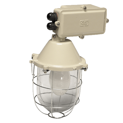 CGLIndustrial Luminaire IND INT WELL GLASS 125W HPMV -BC