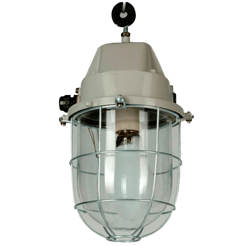 CGLIndustrial Luminaire INT WELL GLASS 120W HPMV VERASALUX