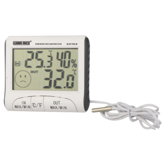 KUSAM-MECO MAKE 3 1/2 DIGITS 1999 COUNTS DIGITAL THERMOHYGROMETER KM 918B