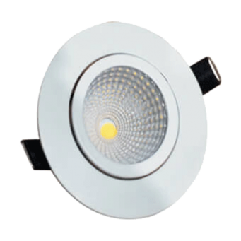 GREAT WHITE MAKE 3W 6500K LED COB ROUND SPOT LIGHT