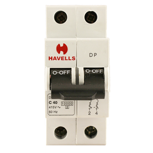 Havells Double Pole 40Amp MCB