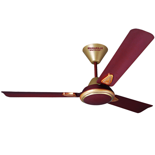 "Maharaja Whiteline 1200mm 48"" Opal Ceiling Fan Colour Coffee Brown"