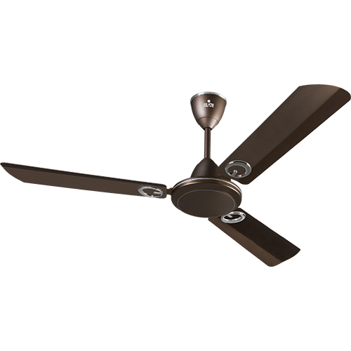 "Polycab 1200mm 48"" Ceiling Fan Fantasy Decorative Colour Pearl Brown"