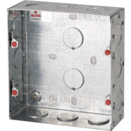 Polycab 16 Module Concealed Metal Box