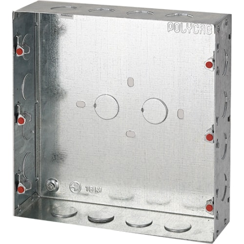 POLYCAB 8M(Sq) CONCEALED METAL BOX