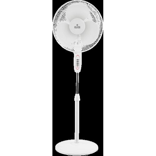 "Polycab 400mm 16"" Pedestal Fan Pp 10 Pedestal Colour Light Grey"