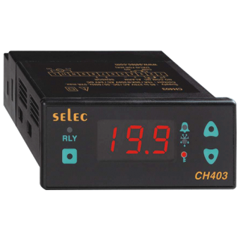 SELEC MAKE CHILLER CONTROLLER WITH 20A RELAY IN 24 V