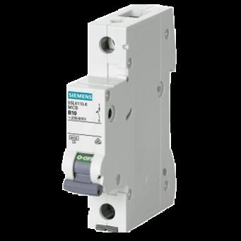 Siemens Single Pole 10A C Curve MCB