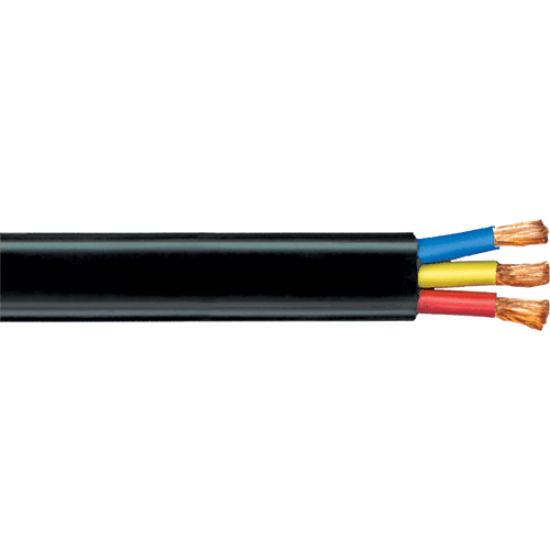 Polycab PVC Submersible Cable 1.5 sq mm 3 Core 1100v Copper Conductor 100 MTR