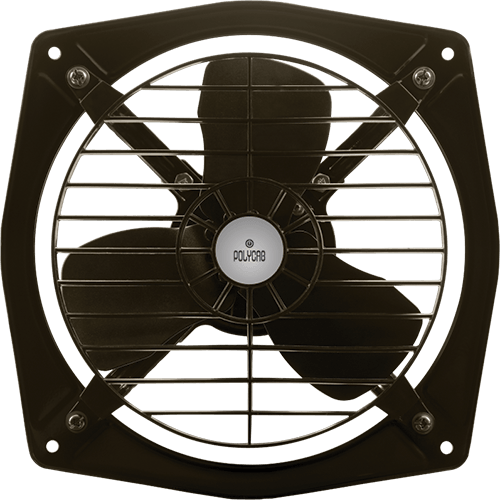 "Polycab 225mm 9"" Exhaust Fan Volo LV Colour Oval Green"