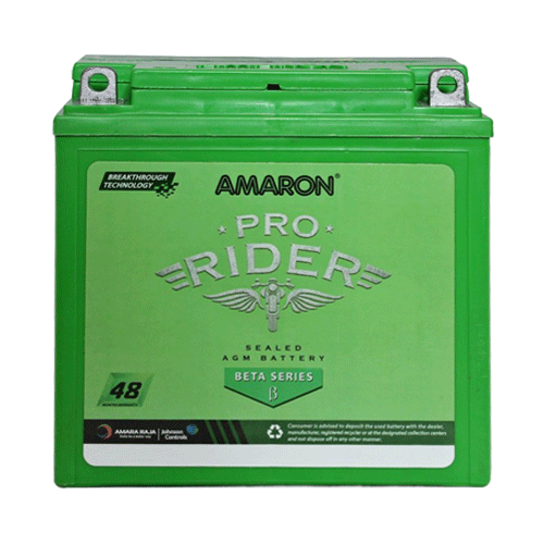 AMARON MAKE BETA AP BTX 2.5L 2.5 AH BETA SERIES BATTERY