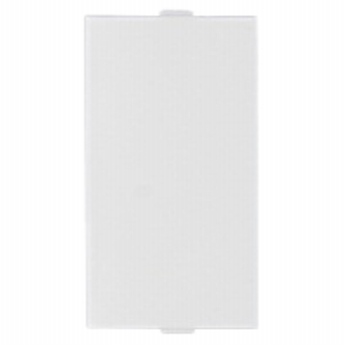 ANCHOR MAKE PENTA MODULAR 1 MODULE SINGLE BLANK PLATE WHITE - 65503