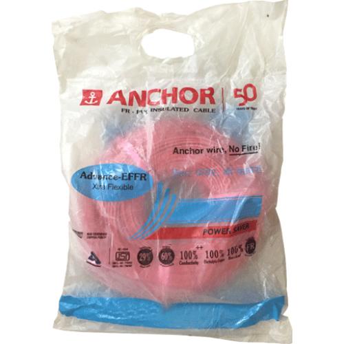Anchor PVC Wire 1 sq mm FR Colour Black 1100v Copper Conductor 180 Mtr Coil