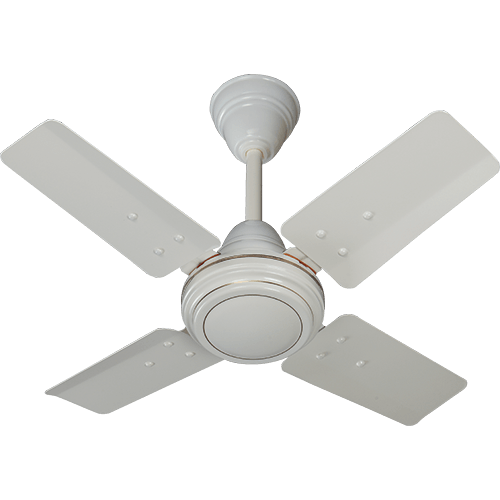 Polycab 600mm 24'' Mini Ceiling Fan Bullet 800 Mkii Colour Bianco