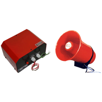 KHERAJ MAKE 0.50 DOUBLE TONE ELECTRONIC SIREN