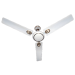 "Almonard 1200mm 48"" Metalic Ceiling Fan Colour Ivory"