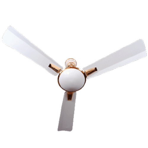 "Almonard 1200mm 48"" New Super Delux Ceiling Fan Colour White"