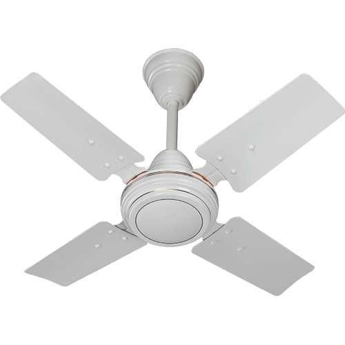 Polycab 600mm 24'' Mini Ceiling Fan Bullet 800 MK ii Colour White