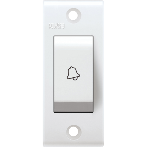 POLYCAB CLETA 6A BELL PUSH SWITCH ISI NON-MODULAR TYPE
