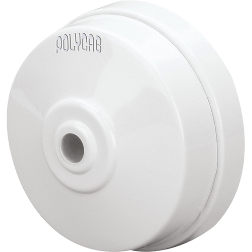 POLYCAB CLETA 6A CEILING ROSE 3 T ISI NON-MODULAR TYPE