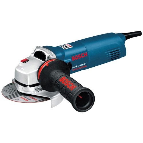 Bosch 1100W 125mm Professional Small Angle Grinders GWS11-125CI
