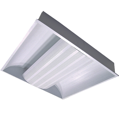 CGLCommercial Luminaire FLUTE Recessed indirect Lum with Ribbed