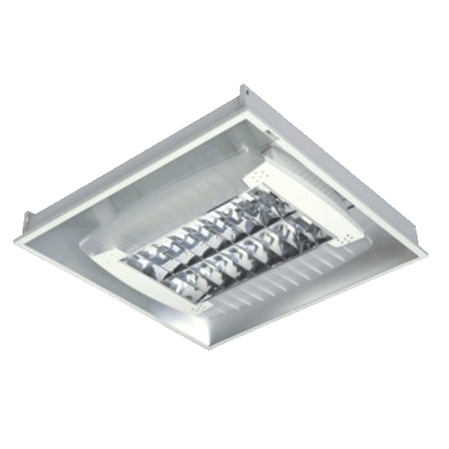 CGLCommercial Luminaire COMM RECESS MTG 2X36W CFL - C.WHITE WING