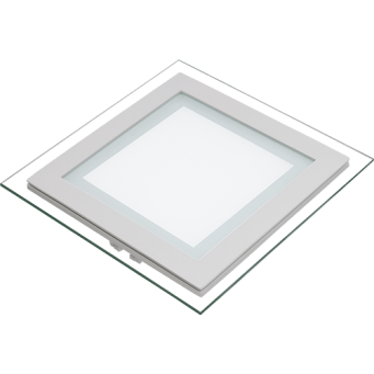 Polycab Scintillate Edge LED Down Light Slim Square 12W 6000k